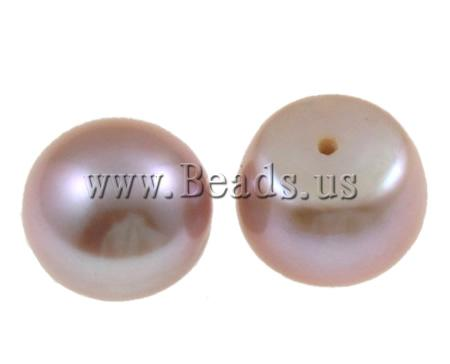 Half Drilled Cultured Freshwater Pearl Beads