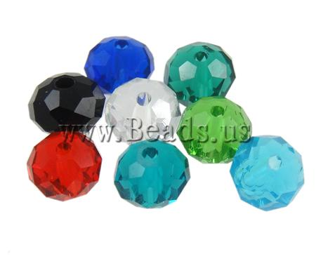 Rondelle Crystal Beads