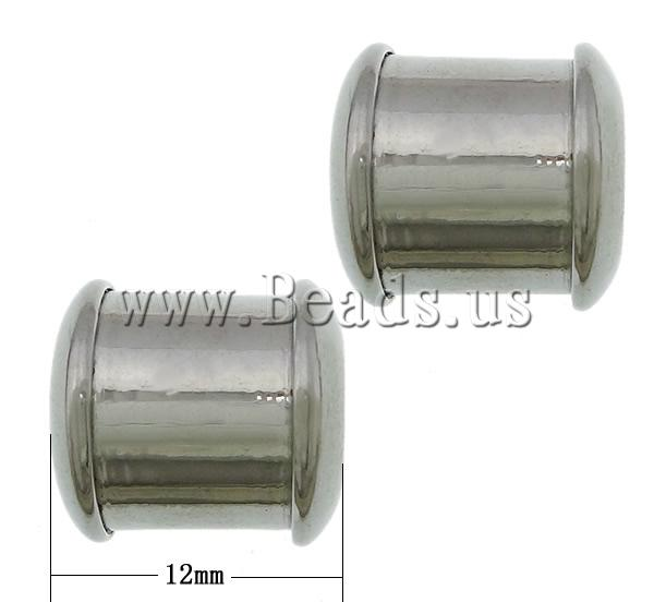 Stainless Steel Large Hole Beads
