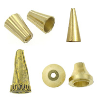 Messing Cone Beads