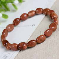 Pulsera Goldstone natural