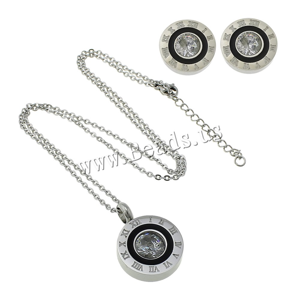Fashion Stainless Steel Jewelry Sets