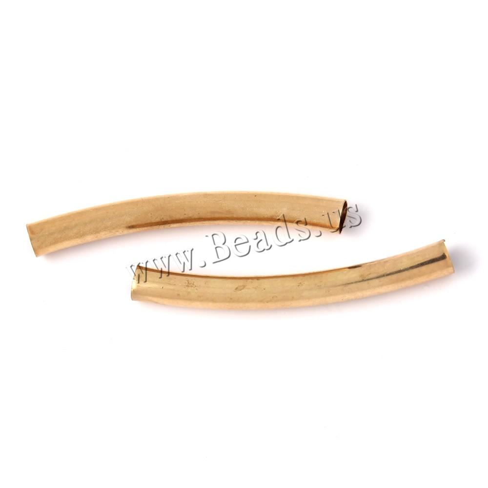Brass Tube Beads
