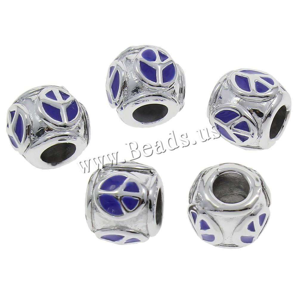 Zinc Alloy European Beads