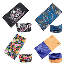 Multifunctionele bandana's