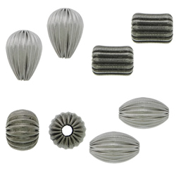 Stainless Steel Corrugated Beads