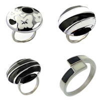 Enamel Stainless Steel Finger Ring
