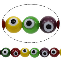Glass Evil Eye Beads