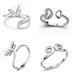 Sterling Silver Finger Rings