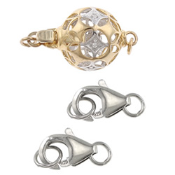 925 Sterling Silver Jewelry Clasps