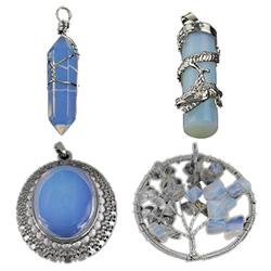 Sea Opal Hangers