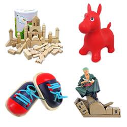 Speelgoed en hobby's