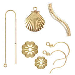 Gouden gevulde sieraden