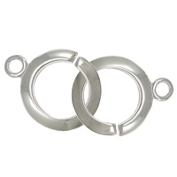 925 Sterling Silver Interlocking Clasp