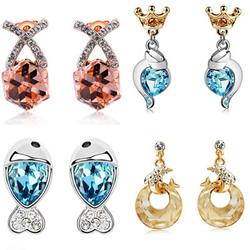 Oostenrijks kristal oorbellen