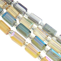 Rectangle Crystal Beads