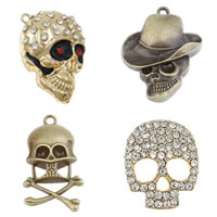 Zinklegering Skull Hangers