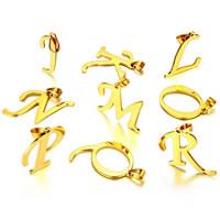 Zinklegering alfabet hangers