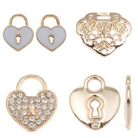 Zink legering locket hangers
