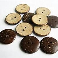 Kokosnoot knop