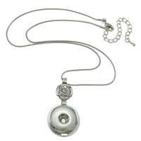 Snap Button Necklace