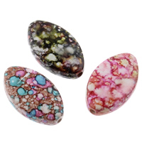 Painted Acrylic Beads