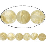 Natural Coffee Stone Beads