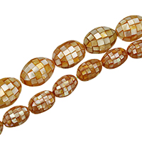Natural Yellow Shell Beads