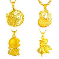 24 K Gold Color Plated Pendant