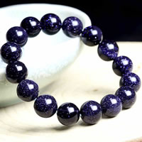 Natural Blue Goldstone Bracelets