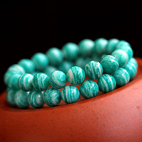 Pulseras de Amazonite natural