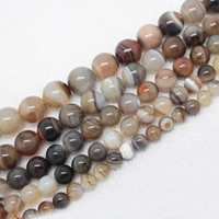 Natural Botswana Agate Beads
