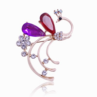 Crystal broche