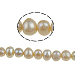 Potato Cultured Freshwater Pearl Beads, natural, pink, 4-5mm, Hole:Approx 0.8mm, Sold Per 15 Inch Strand