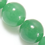 Natural Aventurine Beads, Green Aventurine, Round, green, 10mm, Hole:Approx 1mm, Length:Approx 15 Inch, 10Strands/Lot, Approx 37PCs/Strand, Sold By Lot