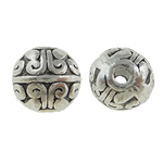 Zinc Alloy Jewelry Beads, Round, antique silver color plated, nickel, lead & cadmium free, 8mm, Hole:Approx 1mm, Approx 769PCs/KG, Sold By KG
