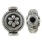 Zinc Alloy Jewelry Beads, Vase, antique silver color plated, nickel, lead & cadmium free, 10x8x4.50mm, Hole:Approx 1mm, Approx 1100PCs/KG, Sold By KG