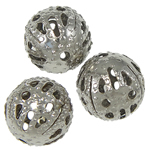 Iron Jewelry Beads, Round, 7.50mm, Hole:Approx 1mm, 2000PCs/Bag, Sold By Bag