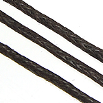 Wax Cord coffee color 1mm Length:400 m 400m/Lot