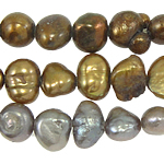 Baroque Cultured Freshwater Pearl Beads, mixed colors, 4-5mm, Hole:Approx 0.8mm, Length:15 Inch, 10Strands/Bag, Sold By Bag