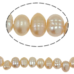 Baroque Cultured Freshwater Pearl Beads, 5-6mm, Hole:Approx 0.8mm, Sold Per 14.5 Inch Strand