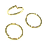 Brass Jump Ring, 7.50x7.50x0.80mm, Sold by KG