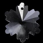 Zawieszki kryształowe, Kryształ, Kwiat, kryształowy, 16x18x8mm, otwór:około 1mm, 10komputery/torba, sprzedane przez torba