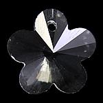 Zawieszki kryształowe, Kryształ, Kwiat, kryształowy, 22x20x11mm, otwór:około 1mm, 10komputery/torba, sprzedane przez torba