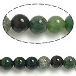 Natural Indian Agate Beads, Round, 6mm, Hole:Approx 0.8-1mm, Length:Approx 15.5 Inch, 10Strands/Lot, Approx 65PCs/Strand, Sold By Lot