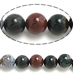 Natural Indian Agate Beads, Round, different size for choice, Hole:Approx 1mm, Length:Approx 15.5 Inch, Sold By Lot
