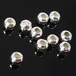 Srebrne koraliki 925, Srebro 925, Bęben, różnej wielkości do wyboru, sprzedane przez torba