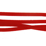 Velveteen Cord, red, 3mm, 200m/Lot, Sold By Lot
