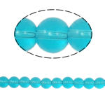 Round Crystal Beads, Indicolite, 10mm, Hole:Approx 2mm, Length:12 Inch, 10Strands/Bag, Sold By Bag