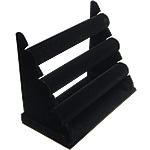 Velveteen Bracelet Display, with Wood, Ladder, black, 350x270mm, 3PCs/Lot, Sold By Lot